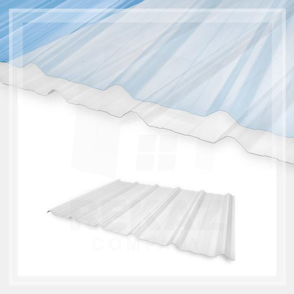 ألواح أسقف فايبر قلاس شفافة